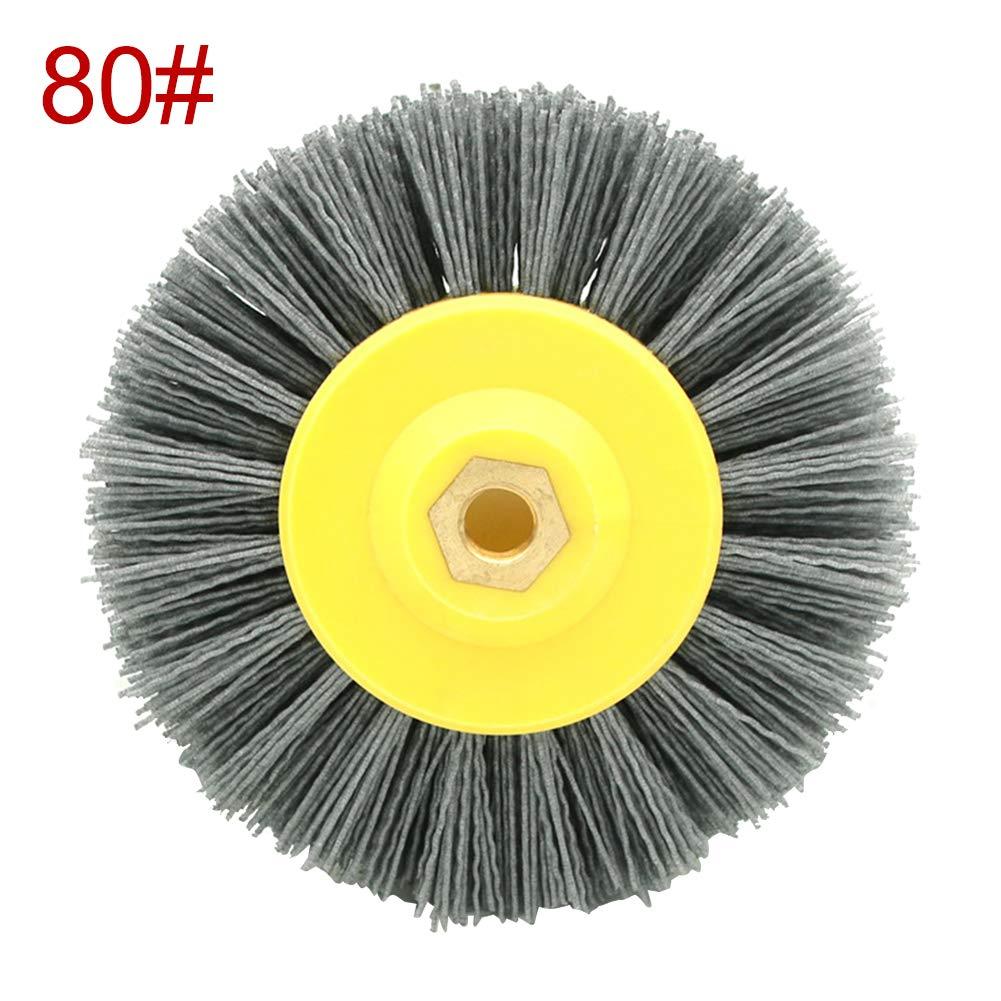 Sweet48 Schleifb/ürste aus Nylon K/örnung 80//120//180//320 Wie abgebildet 80#,