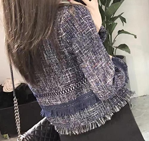 Feel Original Picture Howme Fringe Cashmere Trench Women Cardigan Fit Coat As IqwOTFO