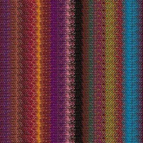 10 Silk Garden Noro - Noro Silk Garden Lite, 2159 - Purple-Browns-Wine-Pea-Sky