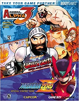 Capcom Gba Combo Official Strategy Guide Covers Street Fighter