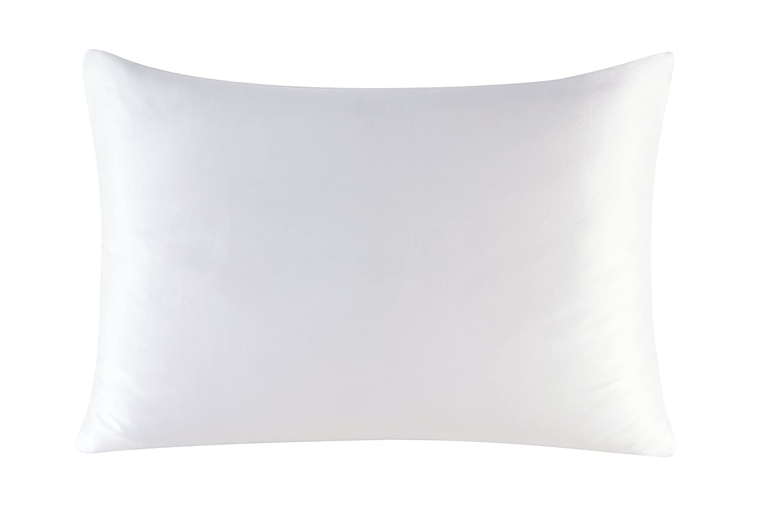 (Standard, White) Townssilk Both Side 100% 16mm Silk Pillowcase Standard Size Pillow Case Cover with Hidden Zipper White B01HKRAMFI 標準|ホワイト ホワイト 標準