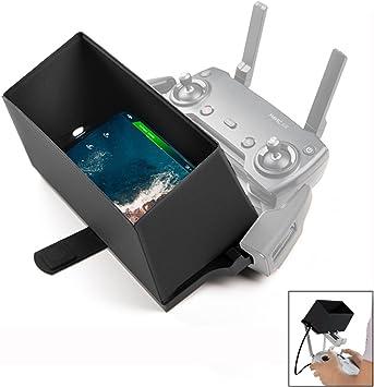Crazepony-UK Smartphone Transmitter Monitor Sun Hood Sunshade Accessories for dji Phantom 4 Mavic Pro Mavic Air and dji Spark Drone Remote Controller Screen Shade Universal Smartphone Sun Shade: Amazon.es: Juguetes y juegos