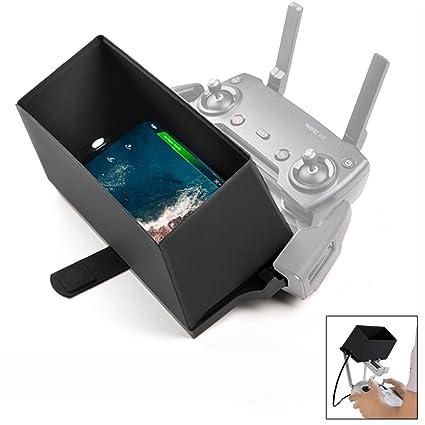 4f162be8fa6 Smartphone Transmitter Monitor Sun Hood Sunshade Accessories for Mavic Pro  2 Pro Zoom Mavic Air Phantom