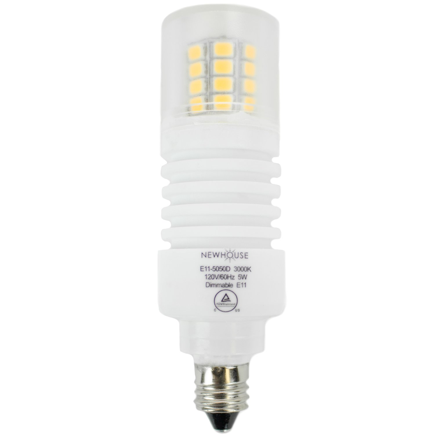 newhouse lighting e11 led bulb halogen replacement lights 5w 50w. Black Bedroom Furniture Sets. Home Design Ideas