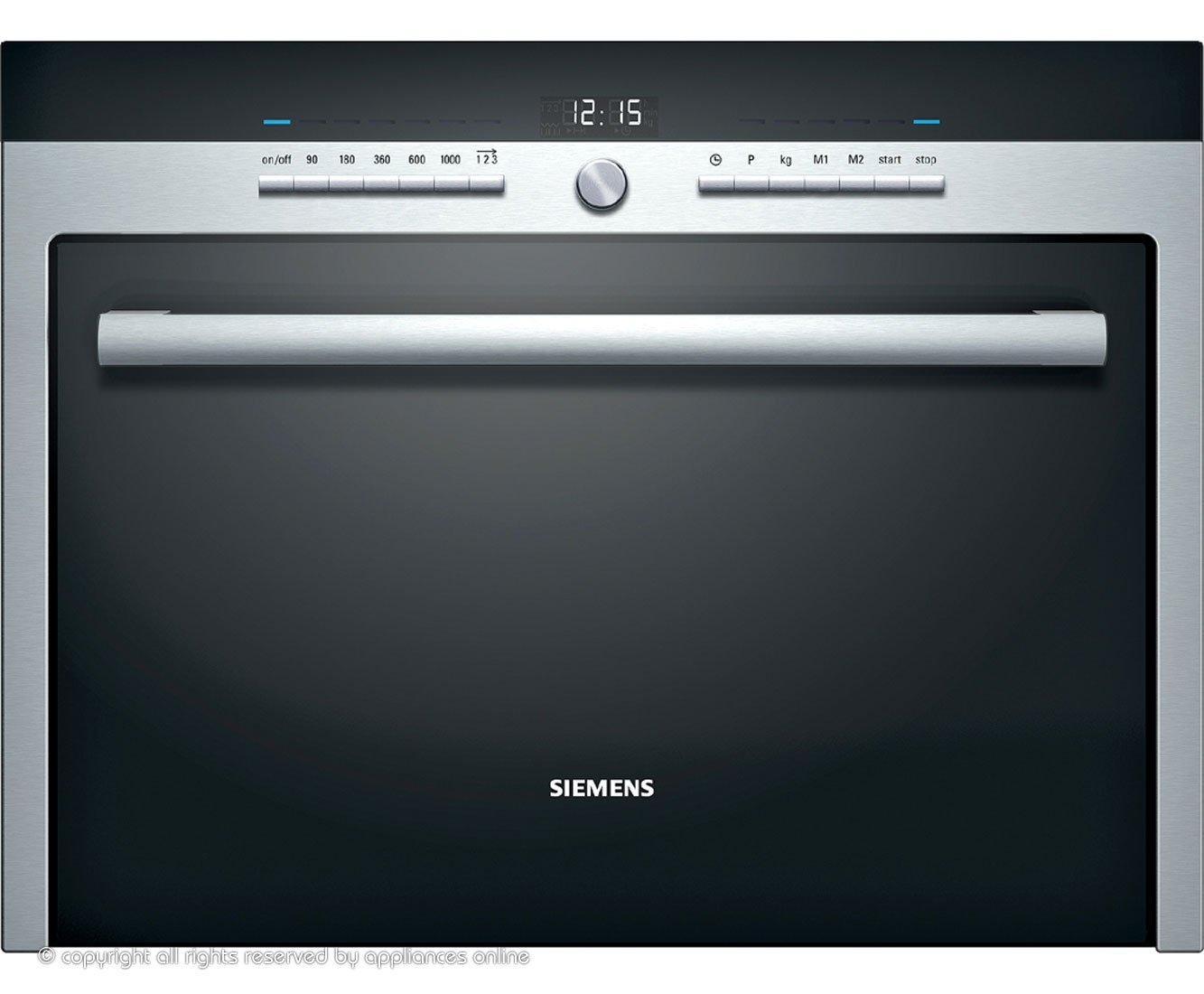 Siemens HF35M562B - Microondas (Integrado, 36 L, 1000 W, Botones ...