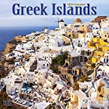 Greek Island Calendar - Greek Islands Calendar - Calendars 2019 - 2020 Wall Calendars - Photo Calendar - Greek Islands 16 Month Wall Calendar by Avonside