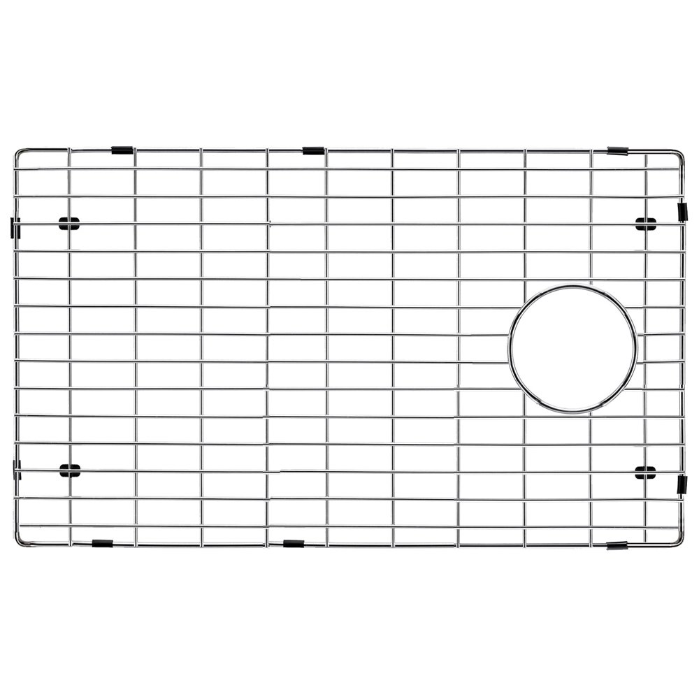 Transolid TSGRSS Radius Bottom Sink Grid, 27.52'' L x 14.92'' W x 1'' H, Stainless Steel