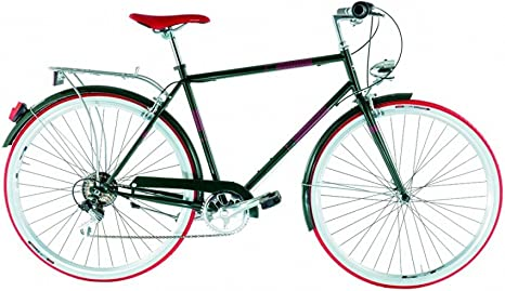 Bicicleta urbana Liceo Alpina, para hombre, ruedas de 28 pulgadas ...