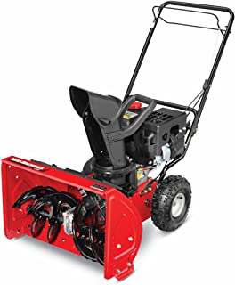 amazon com yard machines 208cc 22 inch two stage gas snow thrower