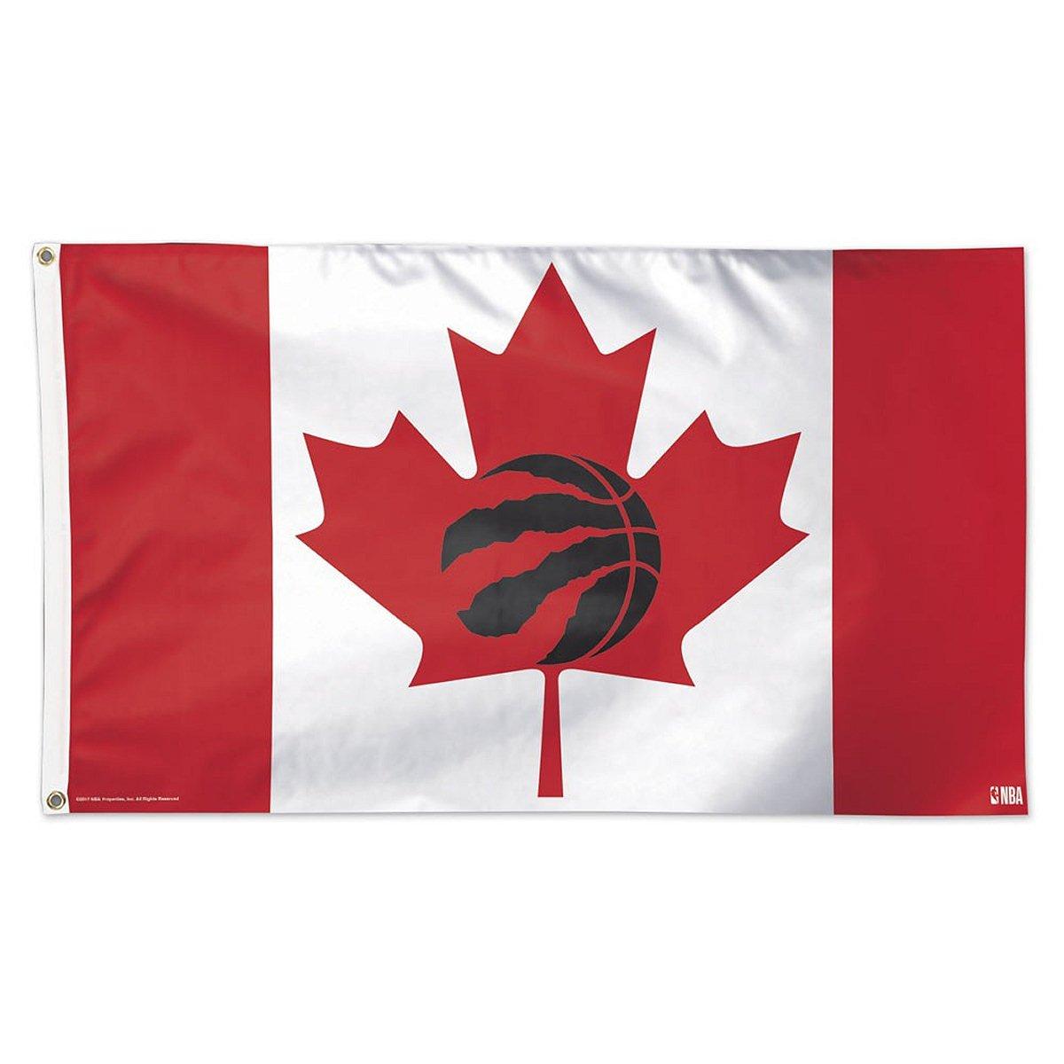Toronto Raptors Canada 3x5 Flag NBA Logo Banner