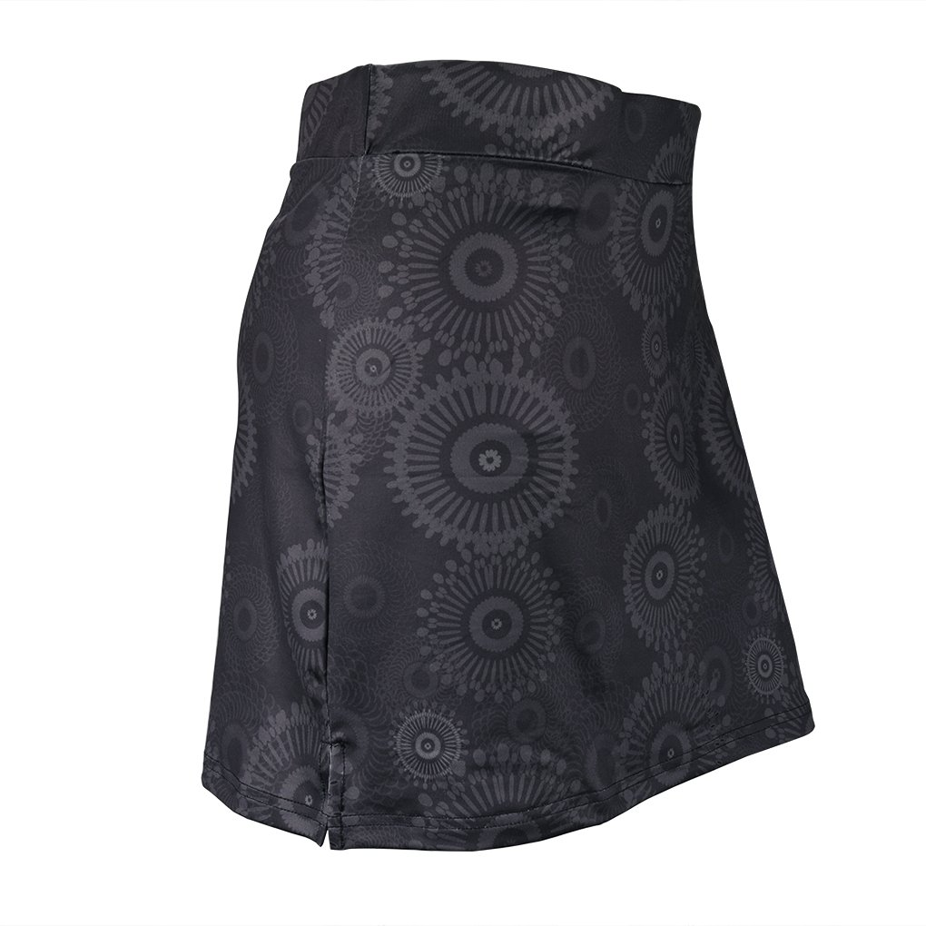 Topfire Women Active Athletic Skorts Lightweight Quick Dry Skirt, Gray Printing, Large by Topfire (Image #2)