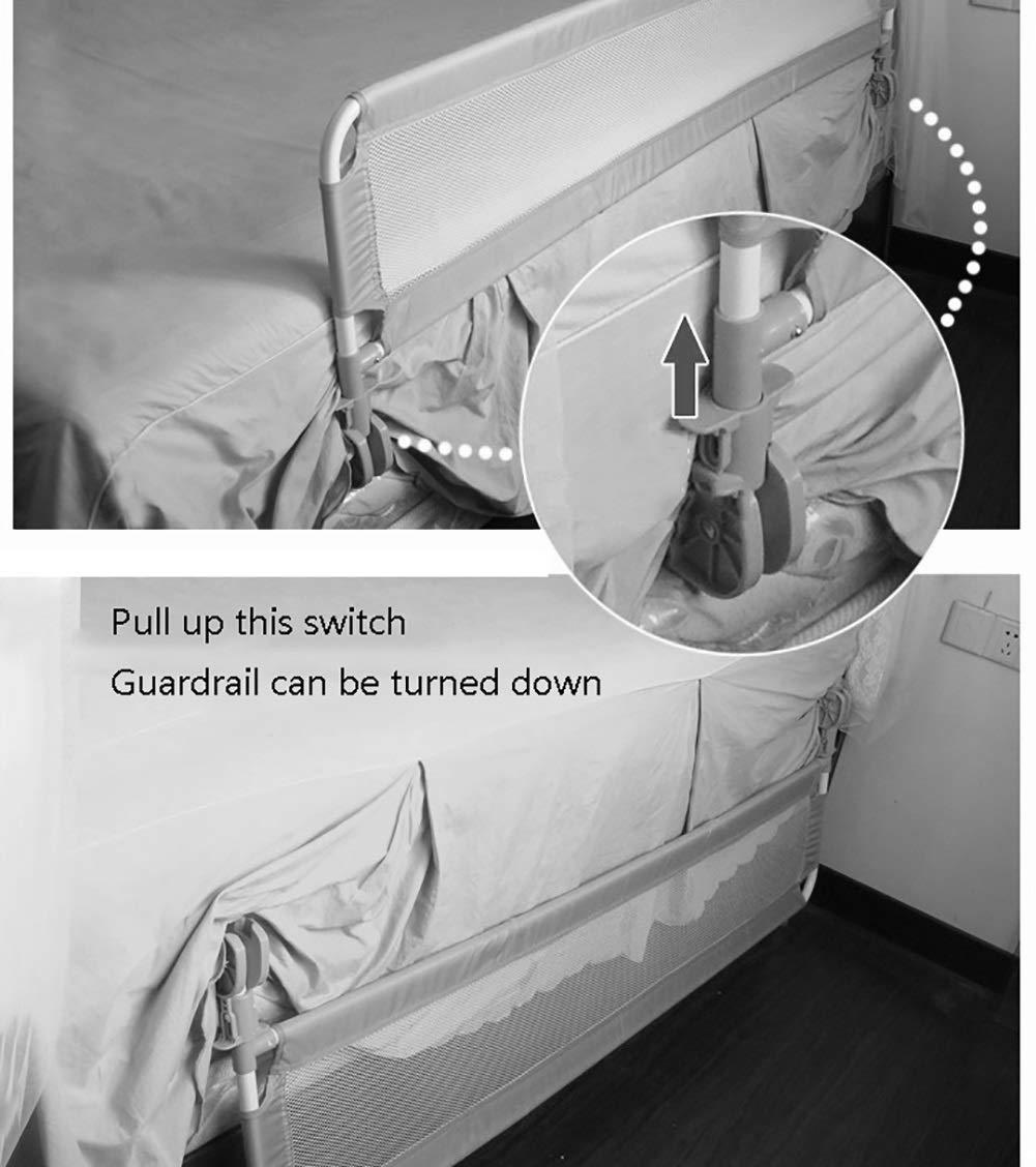 Amazon.com: Barandillas de seguridad para cama infantil ...