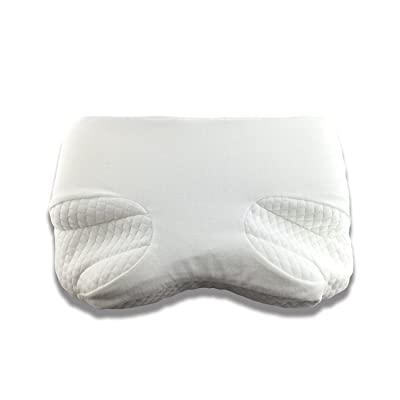 Premium Pillow for Cpap Side and Stomach Sleepers - Comfort Memory Foam With Free Cover