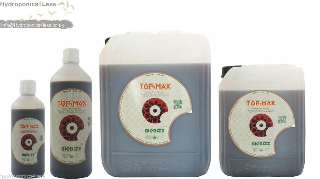 BioBizz TopMax Bio Bloom Stimulator Blühende Boost Hydrokultur 500ml 1510L