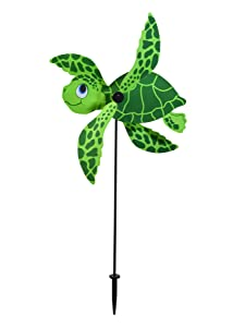 In the Breeze 2554 Baby Whirligig Wind Spinner, Sea Turtle