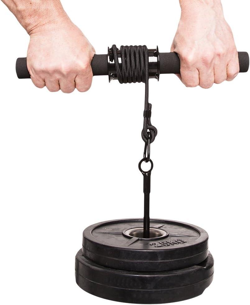 C.P. Sports 38803 - Accesorio de Entrenamiento para antebrazos (Talla única), Color Plateado y Negro