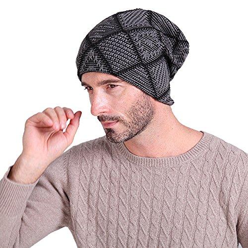 Vbiger Beanie Hat Knit Hat Winter Skull Wool Ha...