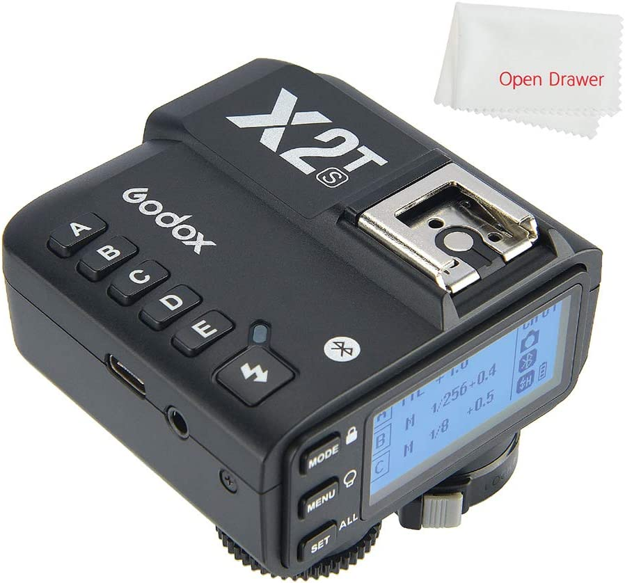 Godox X2T-S 2.4G Wireless Flash Trigger Transmitter for Sony with TTL HSS 1//8000s Group Function LED Control Panel Firmware Update