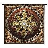 Fine Art Tapestries ''Leopard Mirror'' Wall Tapestry