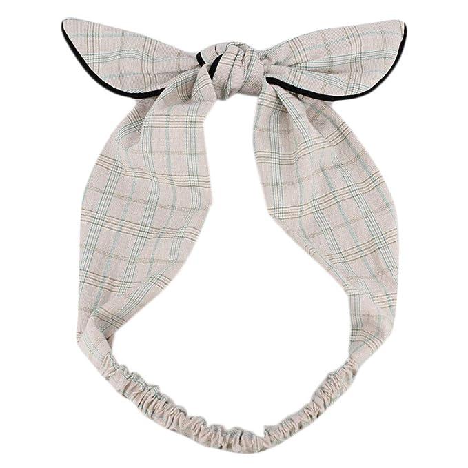 Longsw - diadema con nudo de retro para mujer y niña, turbante, lazo ...