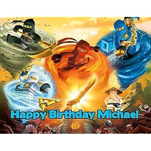 Ninjago Cake Decorations Amazon