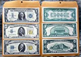 1934 $1 $5 $10 Silver Certificate Large Copy Reprint Reproductions