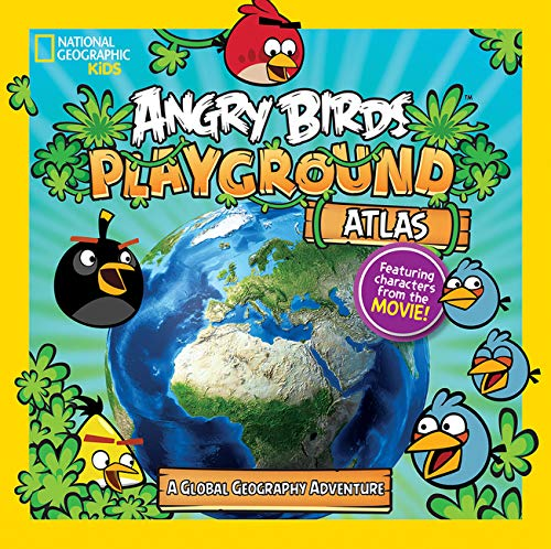 Angry Birds Playground: Atlas: A Global Geography Adventure Angry Birds Playground Idioma Inglés: Amazon.es: Carney, Elizabeth, National Geographic Kids: Libros en idiomas extranjeros