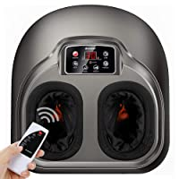 Arealer Foot Massager Machine with Heat, Shiatsu Foot Massagers with Remote Control...