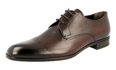 Men's 2EC076 V69 F0038 Leather Business Shoes