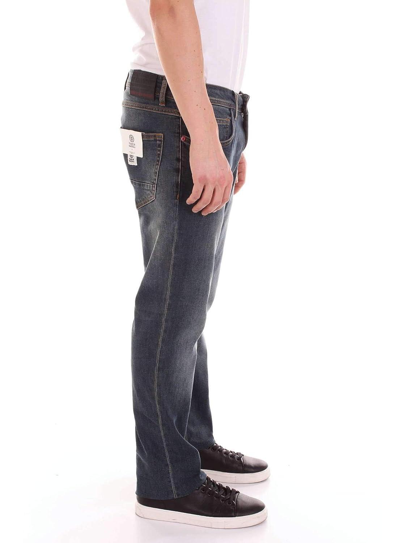 Franklin /& Marshall Mens PTMF445ANS19DARKJEANS Blue Cotton Jeans