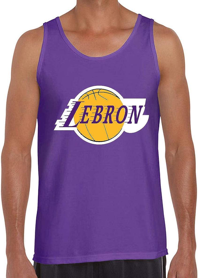 Purple Los Angeles Lebron Logo Tank Top
