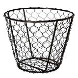 American Metalcraft WIR2 Small Chix Wire Basket, 7-Inch Diameter