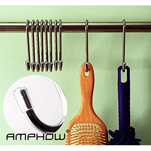 Good S Hook   AMPHOW S Stainless Steel Hanging Hooks Hangers For For  Plants, Gardening