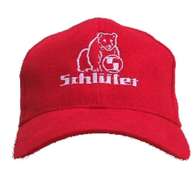 Schlüter Kappe | rot: Amazon.de: Bekleidung