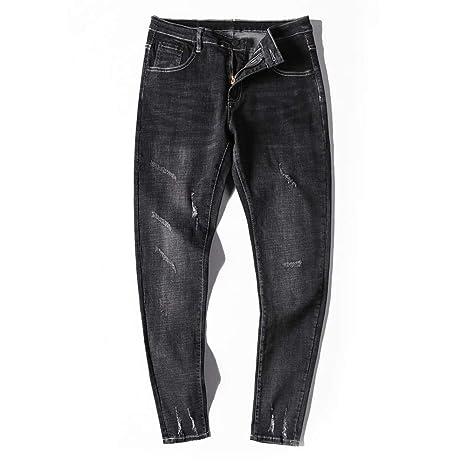 Weentop Pantalones Vaqueros con Varios Bolsillos a la Moda ...