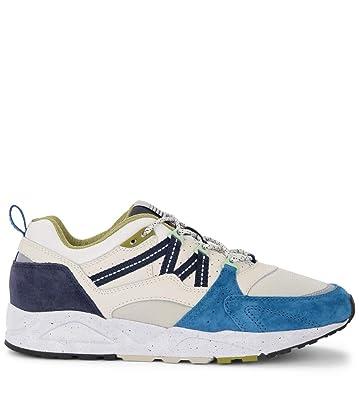 d78dee3172951 Amazon.com | Karhu Men's Sneaker Fusion 2.0 in Pelle E Nylon Bianchi ...