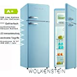 Wolkenstein GK212.4RT LB Nevera/congelador, color azul