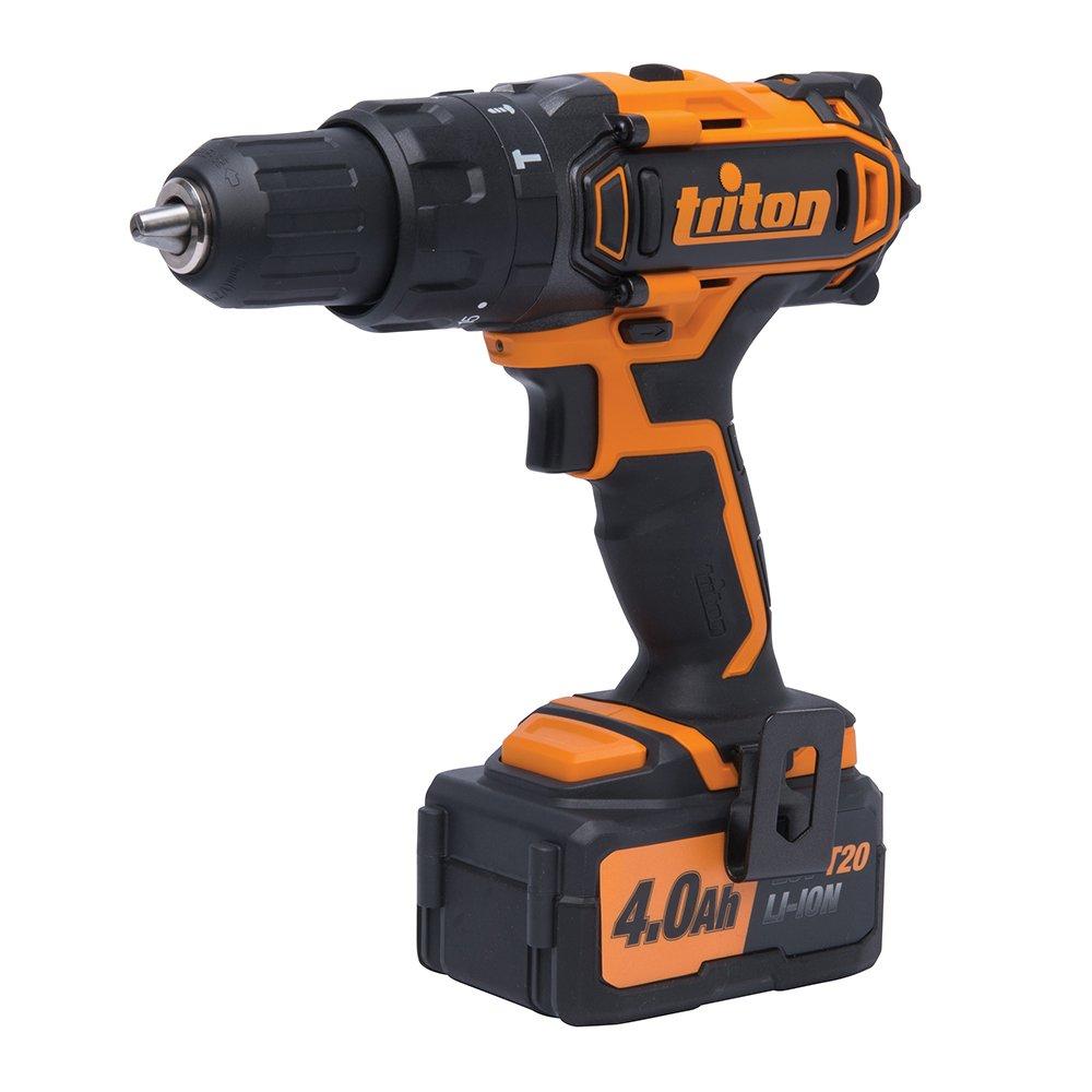 Triton T20CH 20V Compact Combi Hammer Drill