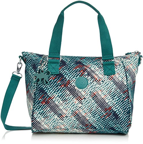 Kipling Womens Amiel Bp Shoulder Bag Multicolour (Metallic Print)