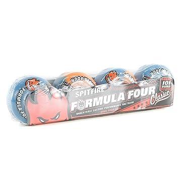 Spitfire fórmula ácido punzón 50 cuatro/50 ruedas de Skate Atomic naranja azul alto 53 mm: Amazon.es: Deportes y aire libre