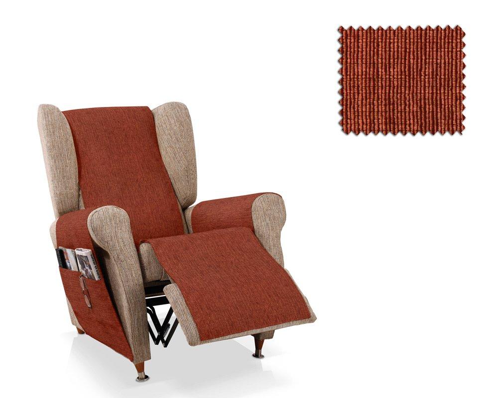 JM Textil Salvapoltrona relax Ody dimensione 1 posto (55 Cm.), Colore 11 (Vari colori disponibili)