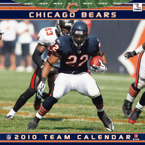 2010 Wall Bears Calendar (Chicago Bears 2010 Wall Calendar)