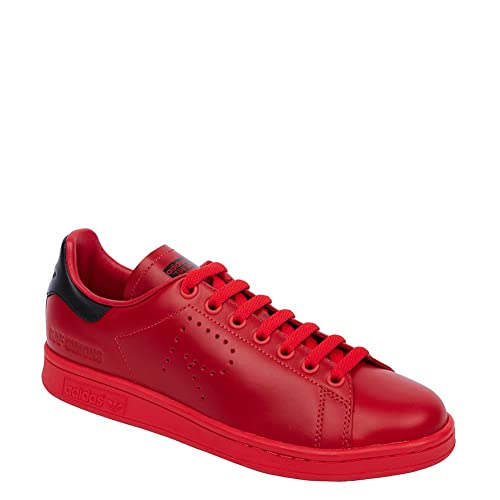 official photos 56c9b e6710 Adidas X RAF Simons Mens Stan Smith Sneakers BA7377 TomatoBlackTomato SZ  11