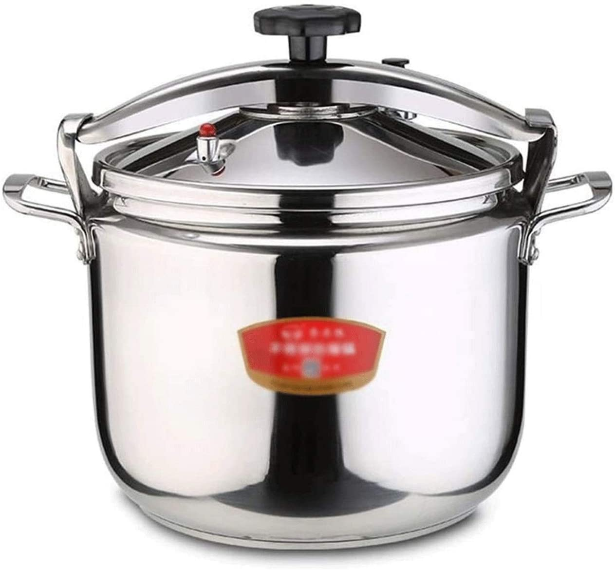 Z-COLOR Commercial Explosion-proof Pressure Cooker 304 Stainless Steel Large Capacity Super Thick Pressure Cooker Induction Cooker Hotel Gas General Induction Cooker (Size : 22L)