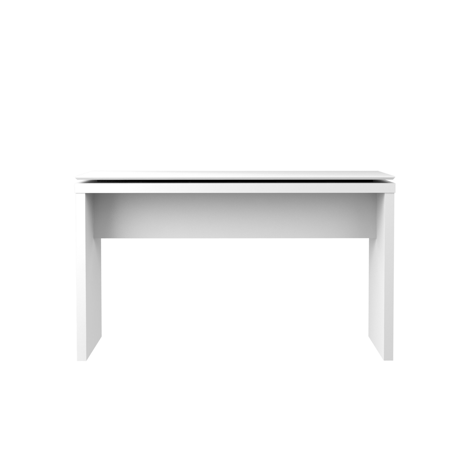 Manhattan Comfort Lincoln Collection Contemporary Accent Rectangular Entryway Sideboard Table With Floating Top, White