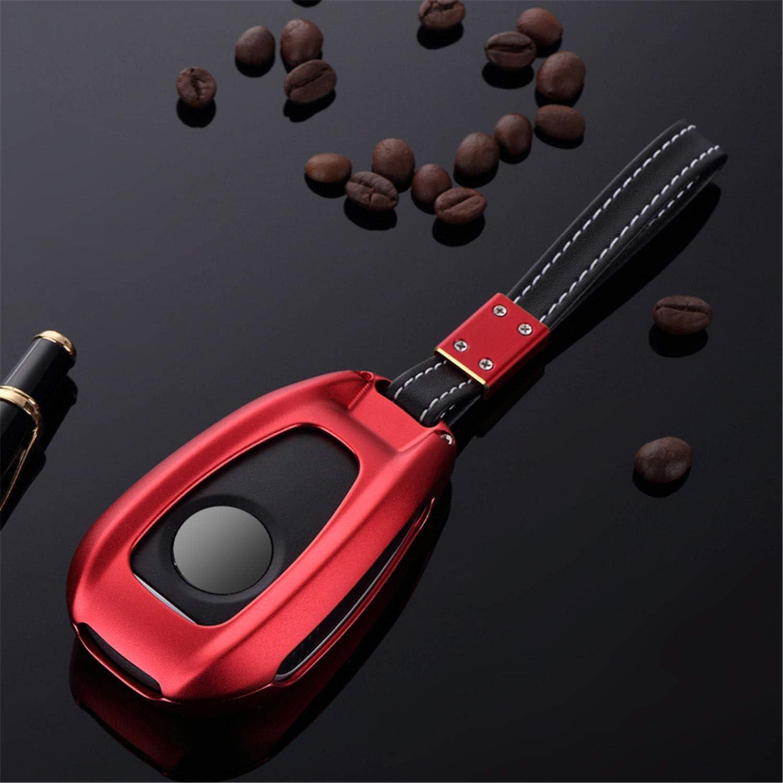 Custodia Protettiva per Chiave Auto Red M.JVisun Alluminio per Alfa Romeo Giulia Alfa Romeo Stelvio in Alluminio