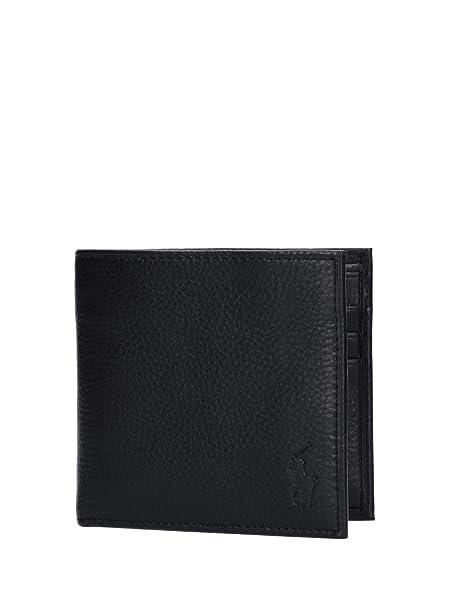 codice promozionale 0bdbf c869e Polo Ralph Lauren, portafoglio pelle martellata con porta carte di ...