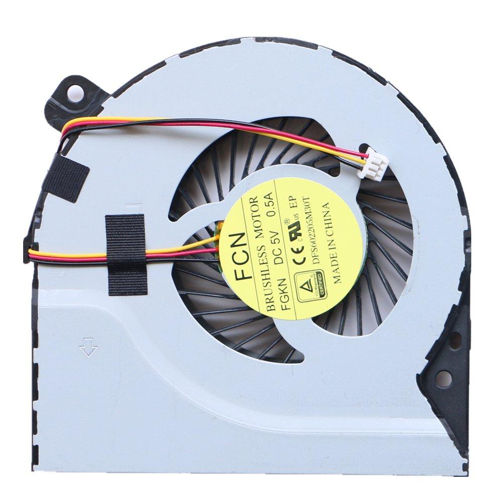 Cooler para Asus X550D X550DP K550D X750DP X750JB R751JB R751L R751 K750 K750L K750LA K750LB K750LN Fan