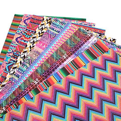 FidgetKute 12 Block Fabric Panel Beautiful Bird Quilt Squares Chickadee Bluejay Cardinal Show One Size