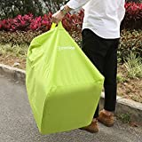 Car-Seat-Travel-Bag-Evecase-Baby-Child-Car-Seat-Carrying-Travel-Case-Bag-with-Backpack-Shoulder-Strap-Green